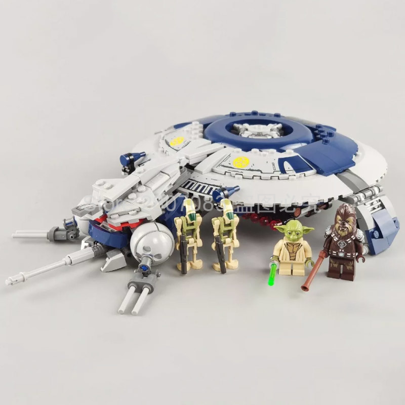 11420 Star Wars Series Droid Gunship Building Blocks 399pcs Bricks Toys Sets For The Gift Compatible With StarWars 75233