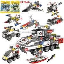 491Pcs Military Attack Team ARMY Armoured Fighting Vehicle Building Blocks Technic LegoINGLs Minecrafteds Playmobil Bricks Toys