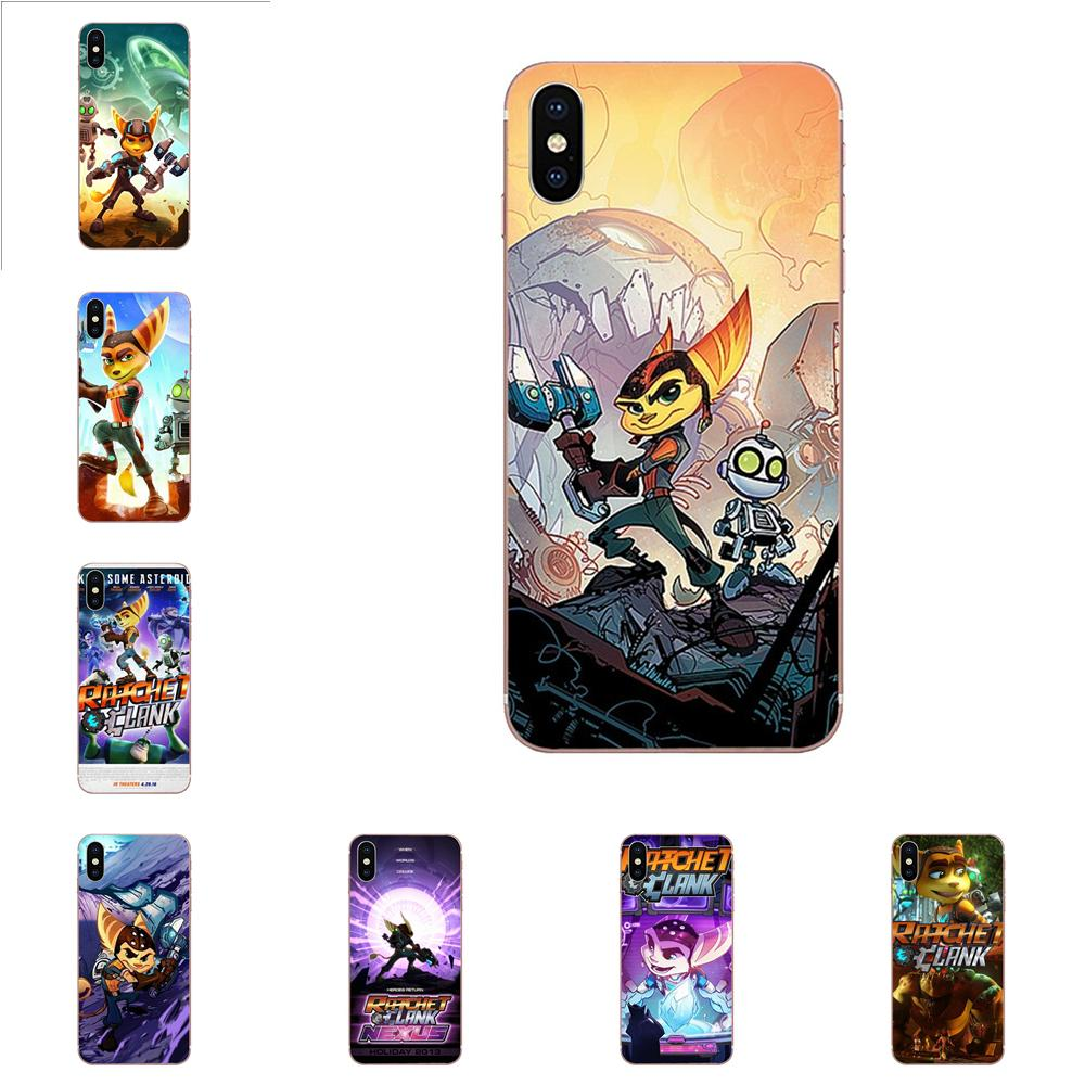 For Huawei Honor Mate 7 7A 8 9 10 20 V8 V9 V10 V30 P40 G Lite Play Mini Pro P Smart Soft Cases Cover Game Ratchet And Clank image