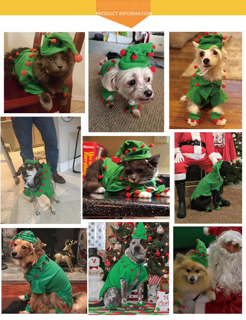 Одежда для собак костюмы на Хэллоуин толстовки кошек зимнее