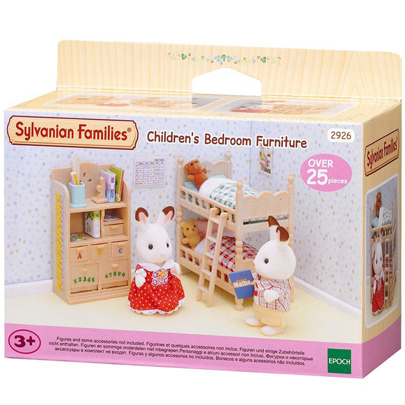 Sylvanian Families Toy Sylvanian Families Children Bedroom Suit GIRL'S Play House Doll Toy 4254