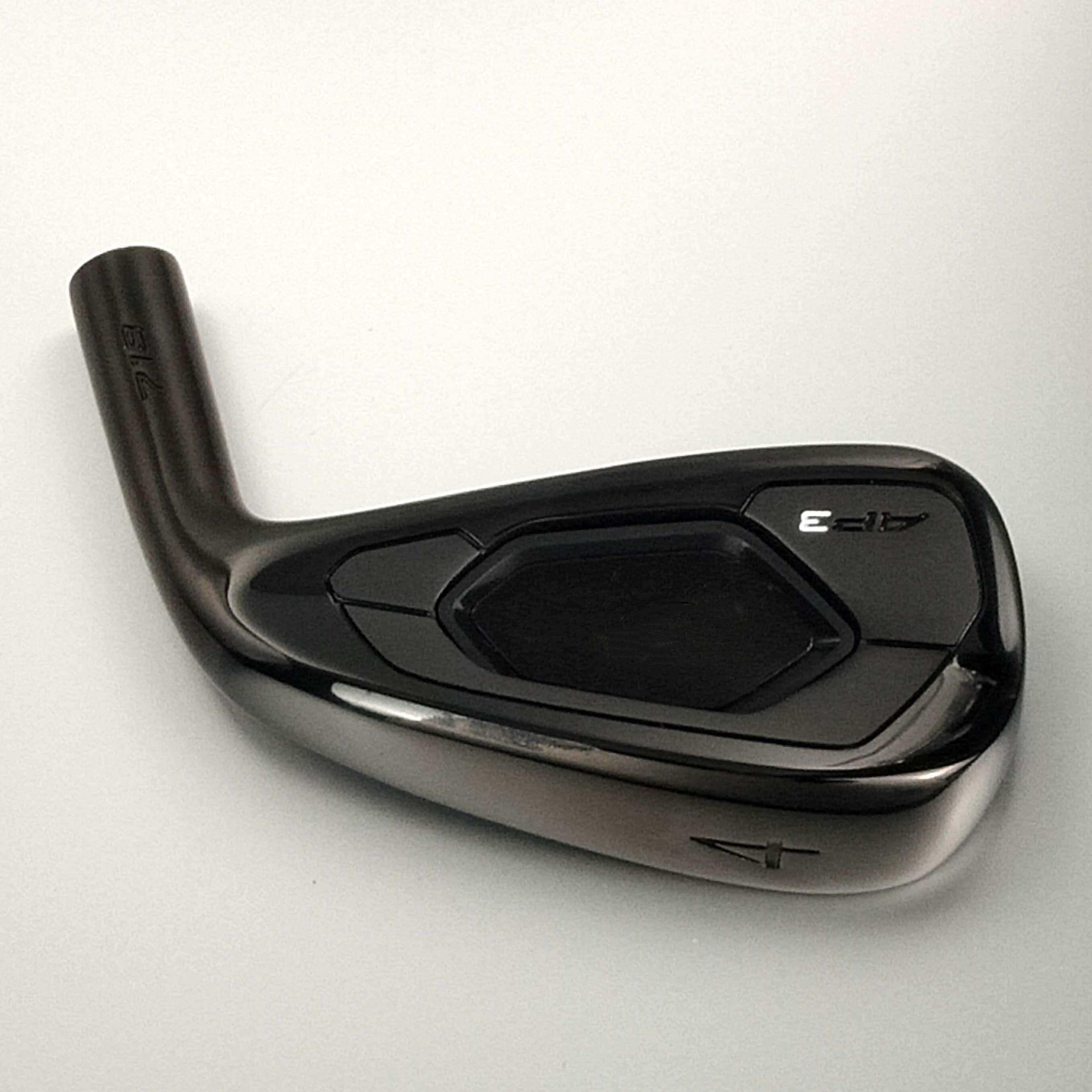 Клюшки для гольфа Утюги A3 718 черный Гольф Кованое железо 3 9 Вт R/S стальной вал с головкой крышка Бесплатная доставка