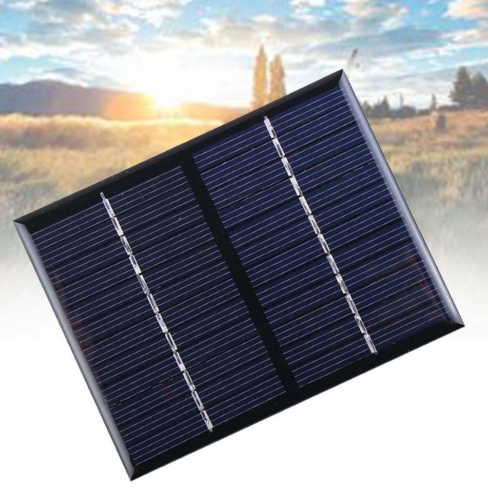 10 PCS Mini Solar Panel 12V 1.5W Solar Cells Photovoltaic Panels Module Sun Power Battery Phone Charger Charging Cellphone