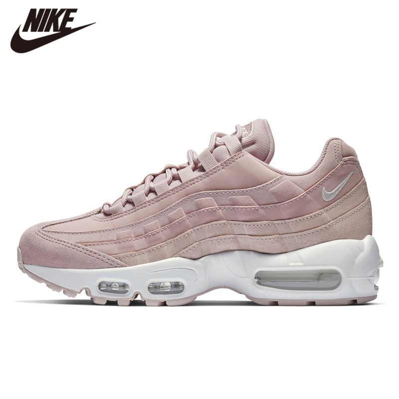 US $115.14 5% OFF|NIKE AIR MAX 95 PRM Pink Running Shoes Increased Women Retro Sneaker in Running Shoes from Sports & Entertainment on