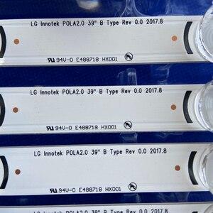 """Image 4 - 100%New 1kit =8pcs(4A+4B) LED backlight bar for TV HC390DUN VCFP1 21X 39LN5400 39LA6200 LG innotek POLA 2.0 POLA2.0 39""""A/B type"""