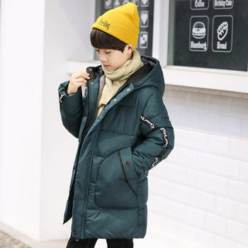 Russian Big Boys Winter Coats Jacket Kids Winter Clothes for Children Boy Winter Outfits Hooded Warm Coat For Teenagers 5 to 14Y high quality boy boys winter coats children jacket kids clothes zipper jackets boys thick windproof waterproof warm winter coat