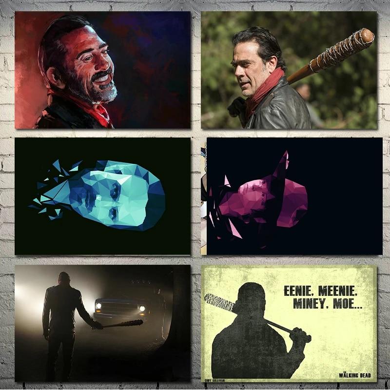 The Walking Dead TV Series Art Silk Canvas Poster 13x20 24x36 inch