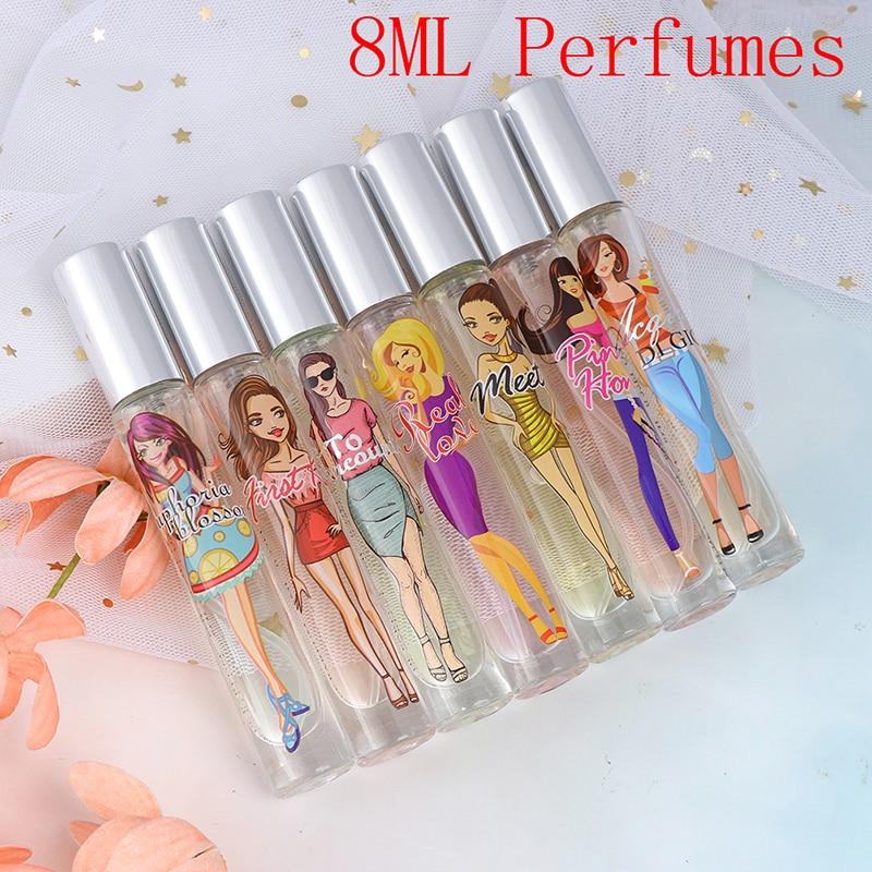 Lasting Fragrance For Women & Men Sweat Deodorant 8ML Female Parfum Women Perfumed Men With Pheromone Body Spray Scent
