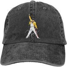 Luobing Men&Women Freddie Mercury Cotton Hat Cowboy Hat Base