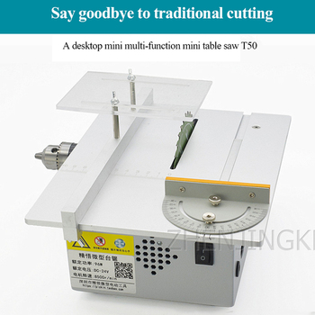 Mini Table Saw Woodworking Tools Desktop Chainsaw DIY  Small Cutting For Wood Processing Device - discount item  29% OFF Woodworking Machinery