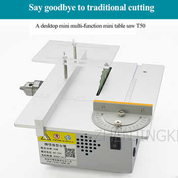Mini Table Saw Woodworking Tools Desktop Chainsaw DIY Small Cutting Table Saw Woodworking Table Saw For Wood Processing Device - DISCOUNT ITEM  28 OFF Tools