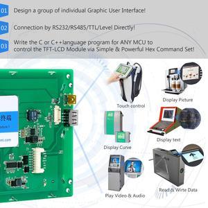 Image 4 - Nueva placa de control LCD cuadrada de 10,1 pulgadas con USB/RS485