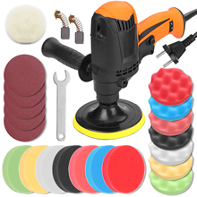 Furniture Waxing-Machine Electric-Polisher Multifunctional Car Speed Six Gears Automobile