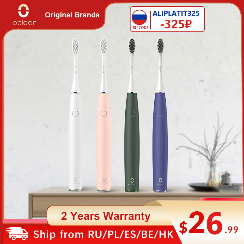 Oclean Air 2 New Sonic Electric Toothbrush IPX7 Waterproof Touch Screen Fast Charging 3 Brushing Modes Tooth Brush For Adult|Electric Toothbrushes| - AliExpress
