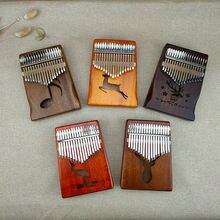 17 клавиш калимба большой палец пианино высокое качество деревянный