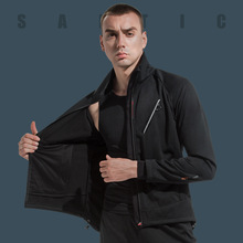 Coat Jackets Reflective Santic Winter MTB Cycling Fleece Windproof Warm Autumn Men WM0C01115