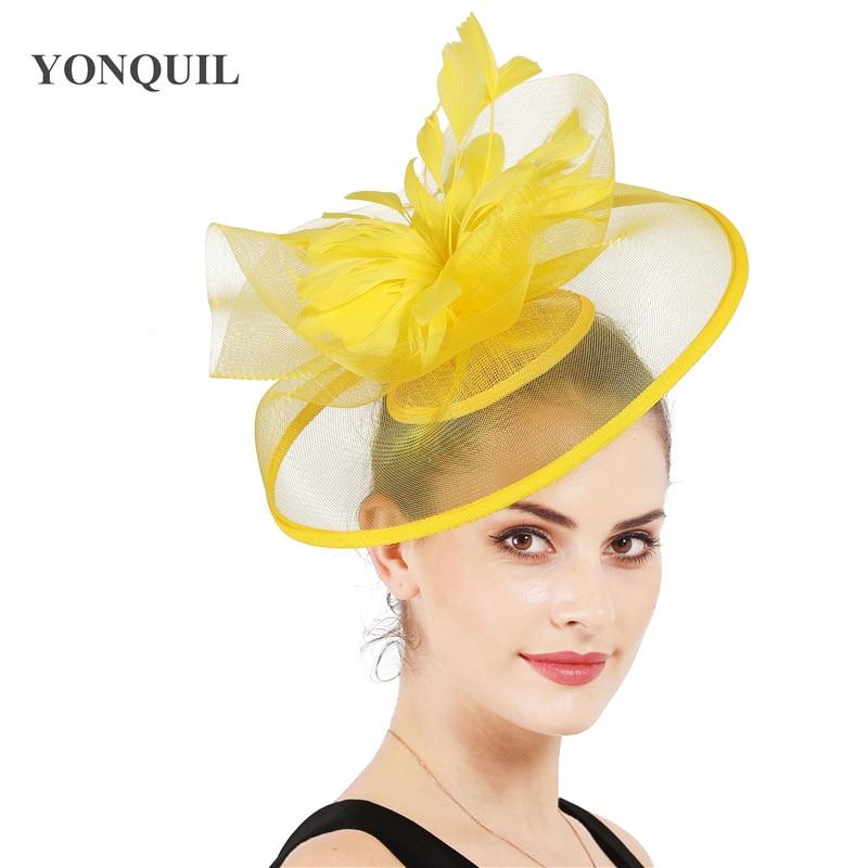 Elegant Headband N Clip Hat Fascinator Alice Band Wedding Royal Ascot Ladies Day