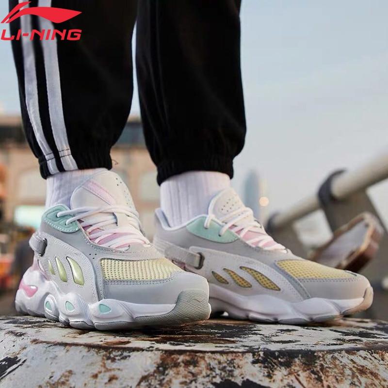 Li-Ning Women BUTTERFLY 2018 Walking Shoes Wearable CHINA LiNing Li Ning Fitness Sport Shoes Leisure Sneakers AGLP044 YXB275