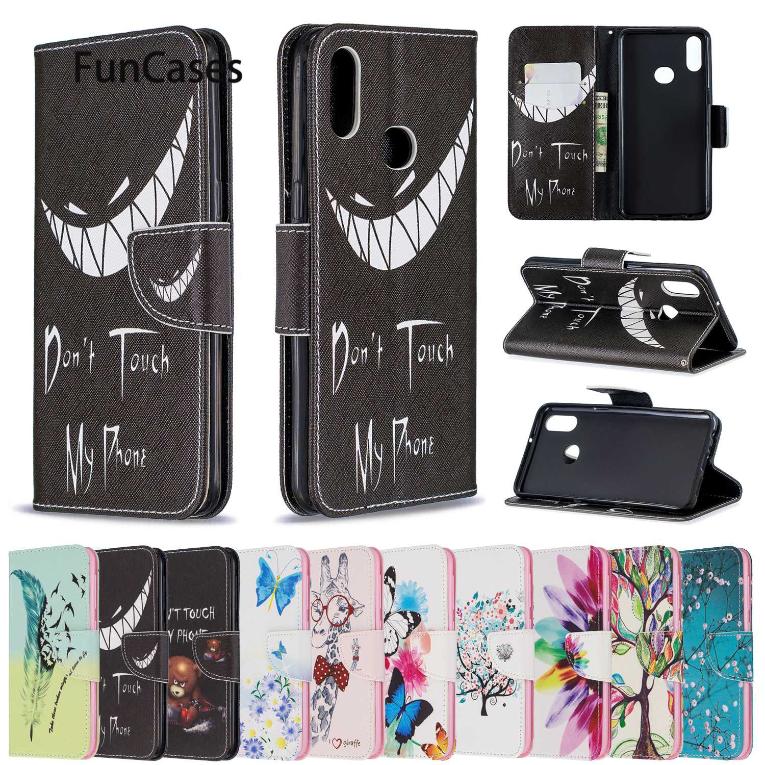 Smartphone Cases For Samsung A20S Butterflys Coques Samsung Galaxy ajax A10S A50S A30S S11 A71 S11E A51 PU Leather Phone Bag image
