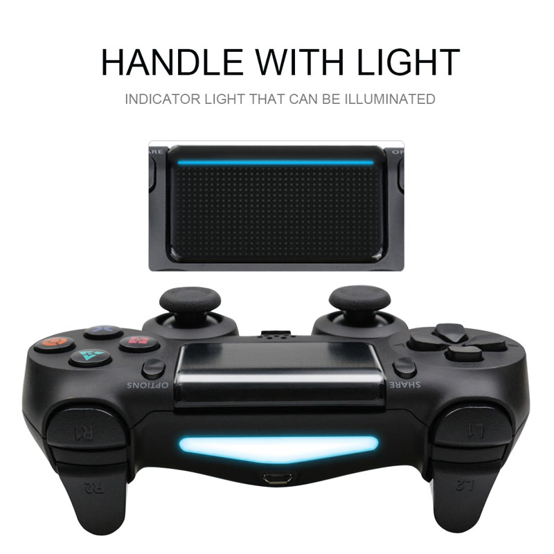 Bluetooth Gamepad and Wireless Game controller with Audio Function for PS4 and PS3 8