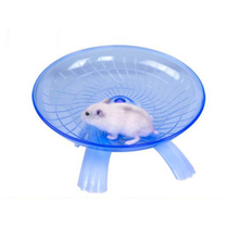 Hamster Toy 18cm Diameter Mouse Plastic Running Disc Flying Saucer Pet Exercise Sport Jogging Wheel Small Tool