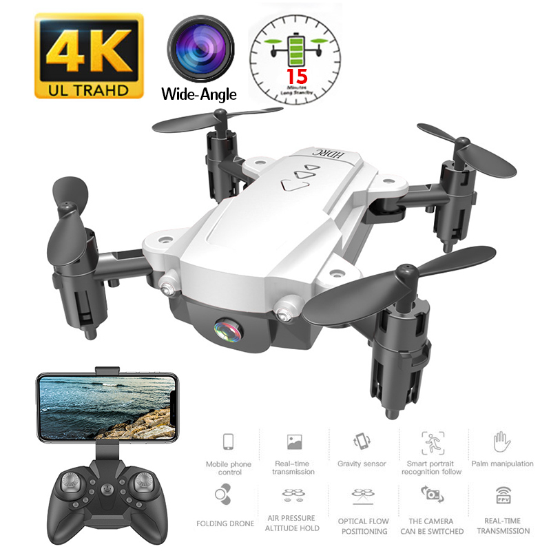 RC WiFi FPV Drones 4K Wide angle Camera RC Helicopter 1080P HD Camera Quadcopter Aircraft Quadrocopter Aerial Video Toys For Kid