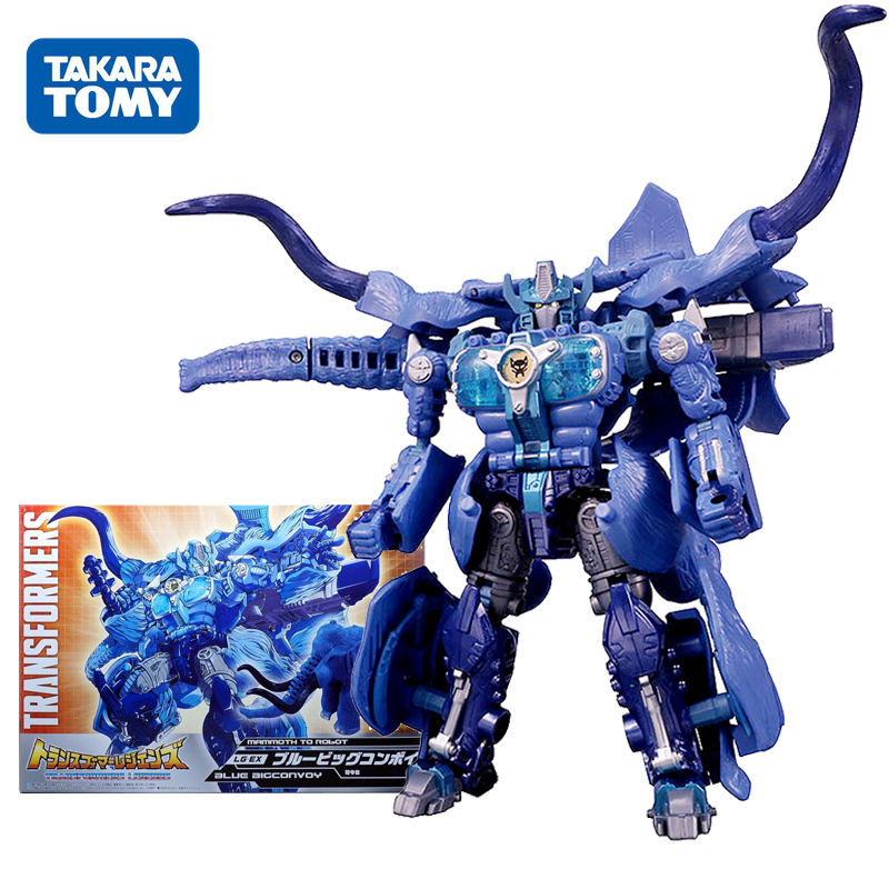 TAKARA TOMY 18cm Optimus Prime Special Edition Action Figure Model Beast Toys Wars:Transformers LG-EX Bw Neo Blue Great Convoy