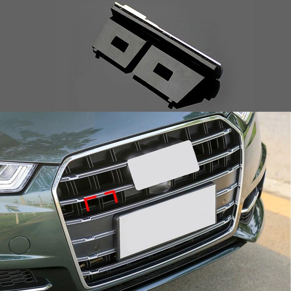 1-50 piezas para la Insignia de la parrilla del coche del logotipo de Sline insignias de decoración de la cubierta 3D accesorios para Audi A4L A6L A1 a3 A5 Q5 coche Tuning