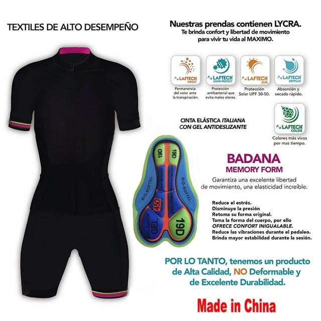20-kafitt-19d-gel almofada ciclismo mulher triathlon ciclismo camisa de uma peça vestido pequeno macaco manga curta terno competição novo 5
