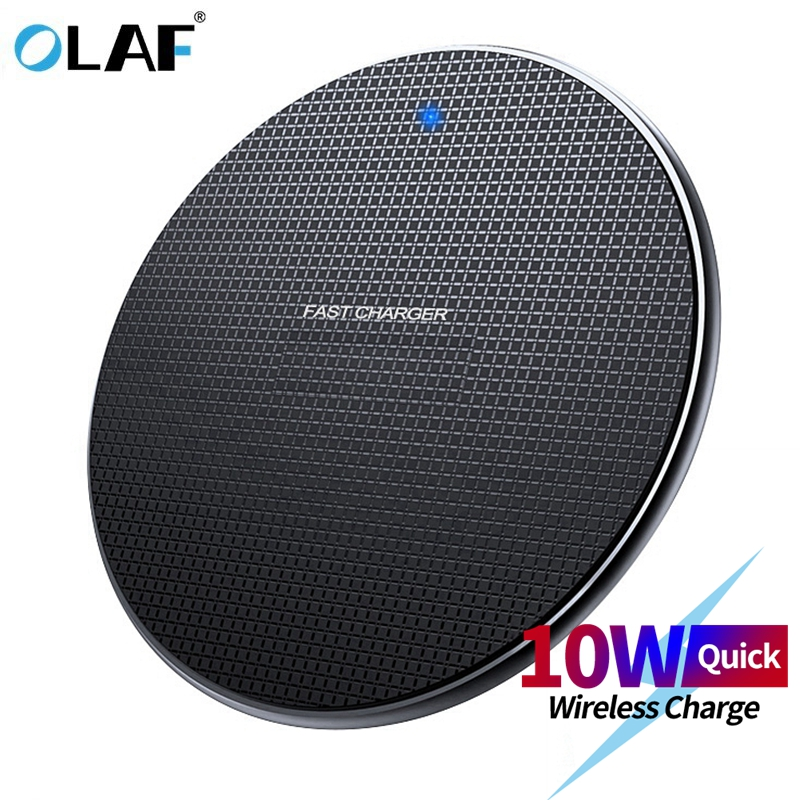 Olaf Wireless-Charger-Receiver Fast-Charging-Pad Chargeur iPhone Xs 8-Plus For Samsung title=