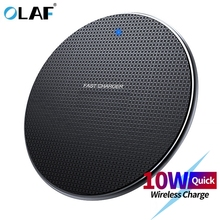 Olaf 18W Qi Wireless Charger Receiver for iPhone Xs Max X 8 Plus Fast