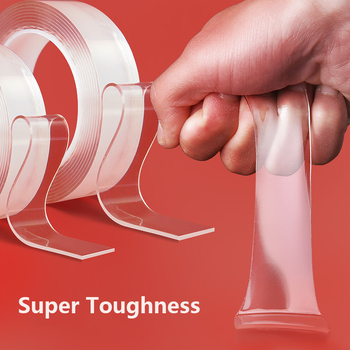1/2/3/5m Multifunction Nano Tape Transparent Double Sided Tape New Reusable Strong Gel Sticker Waterproof Magic Adhesive Tape