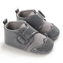 Милая Осенняя нескользящая обувь для маленьких детей; повседневные кроссовки для первых шагов; Повседневная прогулочная обувь на мягкой подошве для мальчиков