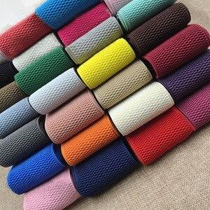 Новинка 6 см Высококачественная импортная резинка Цветная эластичная лента двухсторонняя и толстая эластичная лента аксессуары для шитья ...