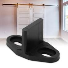 1Set Vloer Gids voor Schuifdeuren Schuur Deur Bodem Gate Floor Gidsen Deur Hardware Accessoires Schuiven Floor gids clip Goedkope prijs