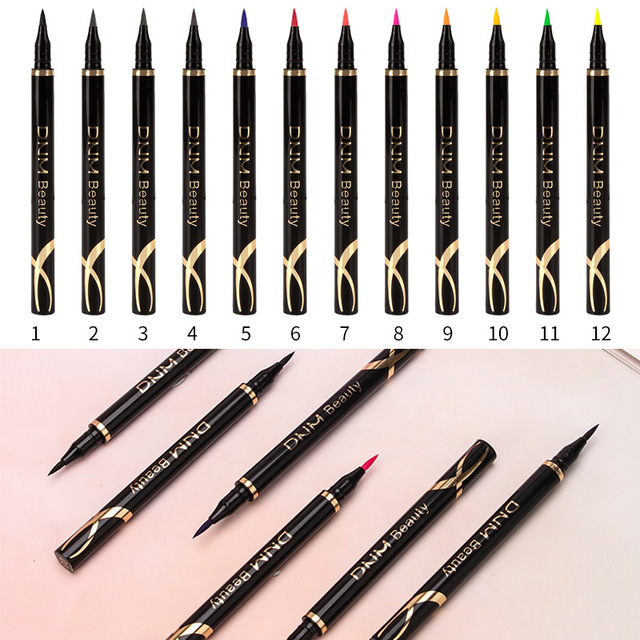Fashion Multicolor Liquid Eyeliner Waterproof Long-lasting Make Up Women Comestic Eye Liner Pencil Makeup Crayon Eyes Marker Pen 1
