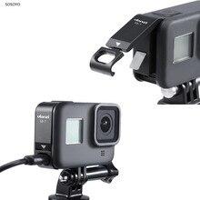 Kim Loại Pin Sạc Mặt Bao Da Nắp Loại C Sạc Cho Máy Gopro Hero 8 Camera Hành Động Phụ Kiện