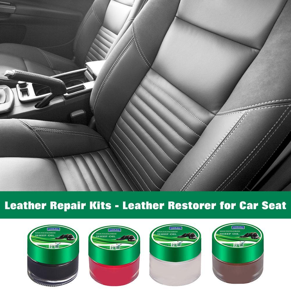 Защитный крем для ремонта кожи, нетоксичный Реставратор для кожи, 4 цвета, многофункциональные ремонтные наборы для автомобильных сидений, ...