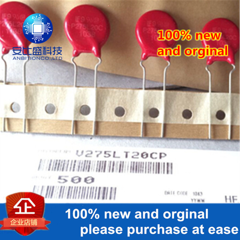 5-10pcs 100% Original NEW P275L20 V275LA20AP LITTELFUSE Lead Varistors 14MM 275VAC In Stock