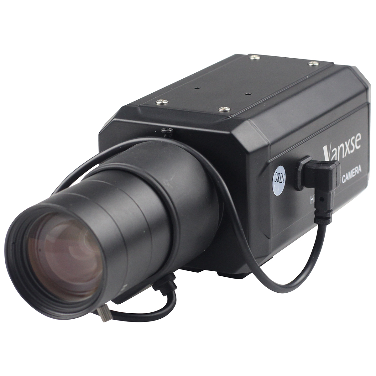 Vanxse CCTV 6-60mm Auto IRIS Varifocal Zoom Lens 1/3 SONY Effio CCD 1000TVL/960H CCTV Security BOX Camera