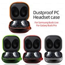สำหรับ Samsung Galaxy Buds สด/Pro หูฟังความปลอดภัยฝาครอบ Samsung Galaxy Budspro Hard PC ป้องกัน coque Shell