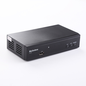 Image 4 - Hellobox V5 récepteur de télévision par Satellite PowrVu IKS Biss entièrement autoroll DVB S2 boîtier de télévision numérique HD intégré