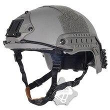 купить 2019 Fma hot Tactical Helmet New Design Skirmish Airsoft Ballistic Helmet Tactical Military DE BK  FG Combat Tb327 /tb325 /tb326 по цене 2983.11 рублей