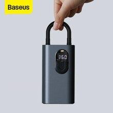 Baseus-compresor de aire portátil para coche, Inflador de neumáticos Digital de 150 PSI, bomba de aire CC de 12V, Inflador de neumáticos automático para coche, bicicleta y motocicleta
