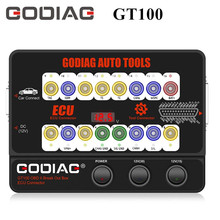 GODIAG GT100 자동 도구 OBD II 브레이크 아웃 박스 ECU 커넥터 EU 선박 관세 없음