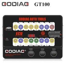 GODIAG – outils AUTO GT100, boîte de dérivation OBD II, connecteur ECU, expédition ue, pas de droits de douane
