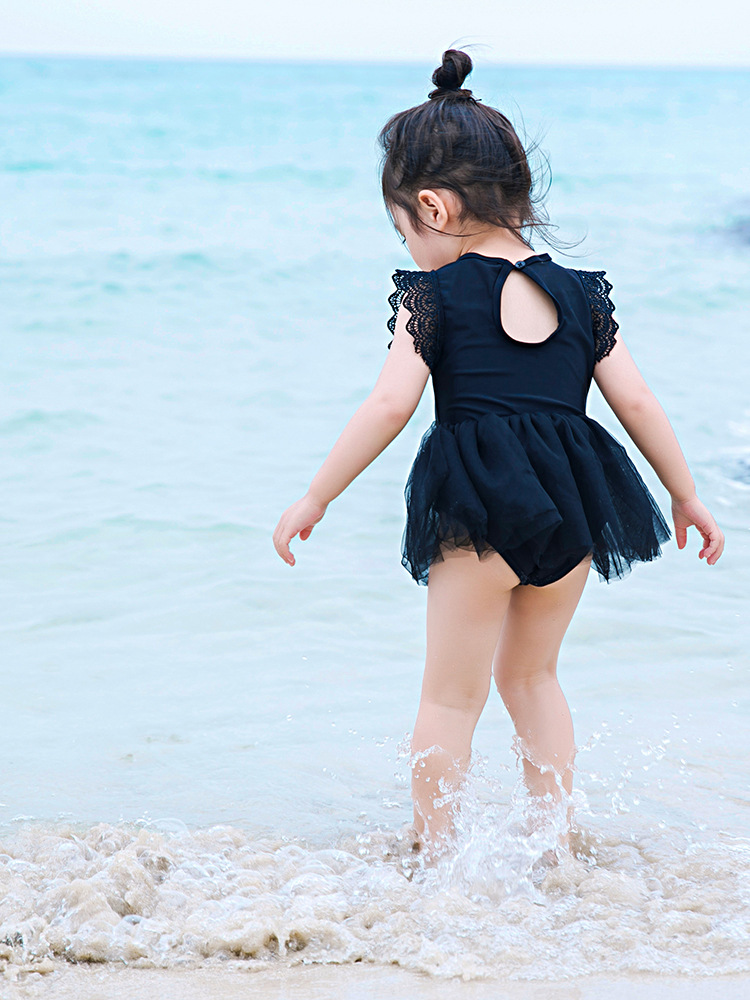 KID'S Swimwear Women's Children 2 Princess 3 To 4 Years Old Cute Baby South Korea 5 CHILDREN'S One-piece GIRL'S Skirt Swimwear