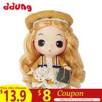 Ddung Reborn Dolls Lol Baby Doll Toy 18CM/7IN Fashion Simulation Soft Doll Children Birthday Christmas Gift >3 Years Old