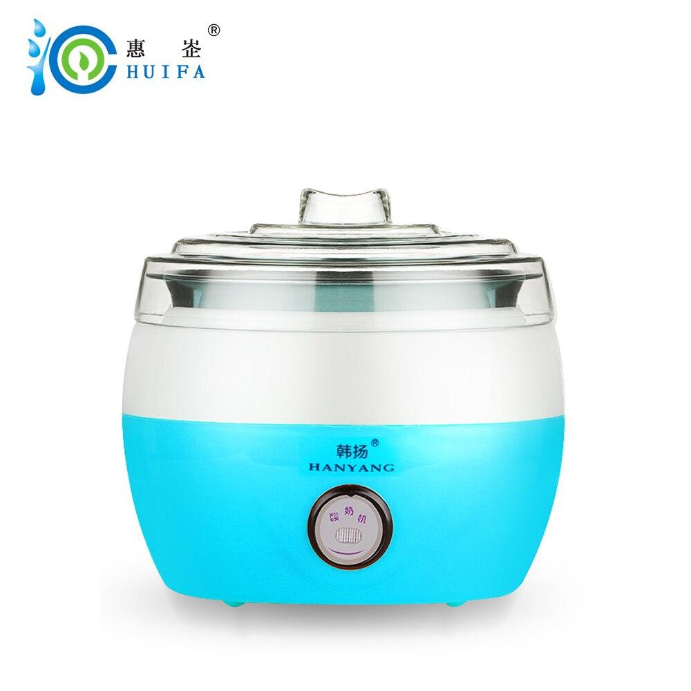 HUIFA Electric multifunction Yogurt Maker Stainless Steel Liner Mini Automatic Machine cups for yogurt kitchen appliances