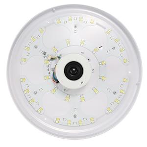 Image 5 - Altavoz inalámbrico LED con Bluetooth y Control remoto para dormitorio, lámpara de Panel de luz LED RGB de techo regulable con aplicación y mando a distancia